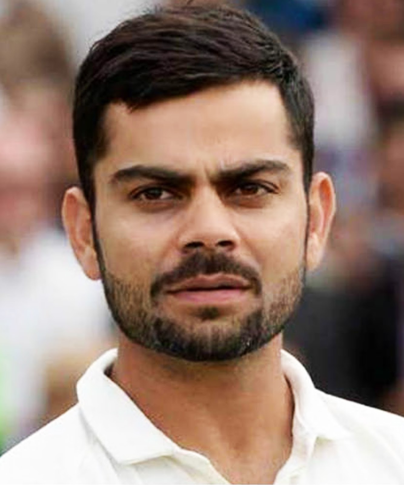 Captain Kohli Simple Hairstyle